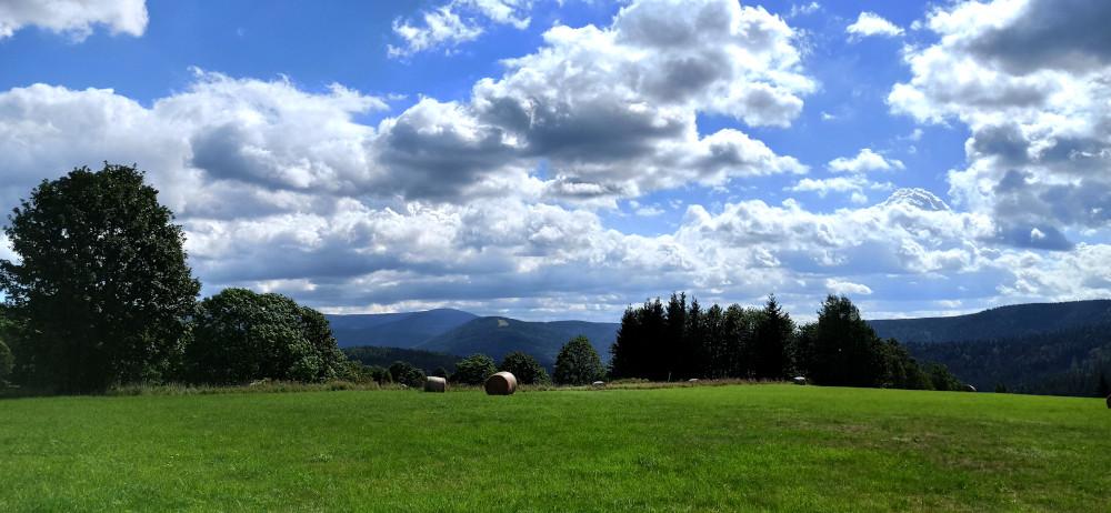 Výhled na Čertovu horu